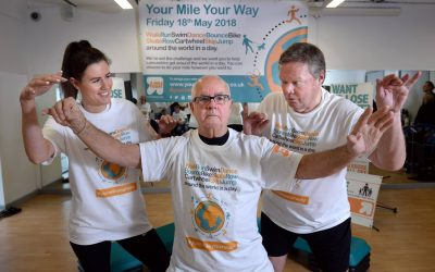 Join us on the 18th of May to walk, swim, cycle and run One Mile Your Way