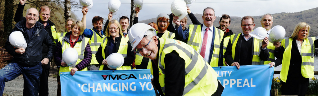 The official ground-breaking at YMCA National Centre Lakeside to commence the construction of the YMCA Lakeside Stoller Campus