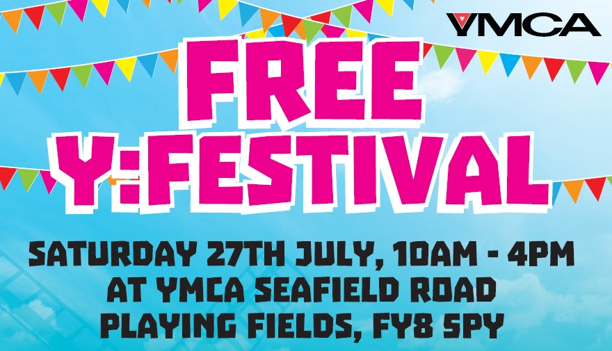 Join Us at Our Free Y:Festival at Seafield Road