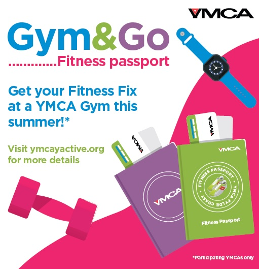 YMCA Gym and Go Fitness Passport