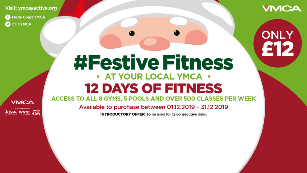 12 Days of Festive Fitness This Christmas at YMCA