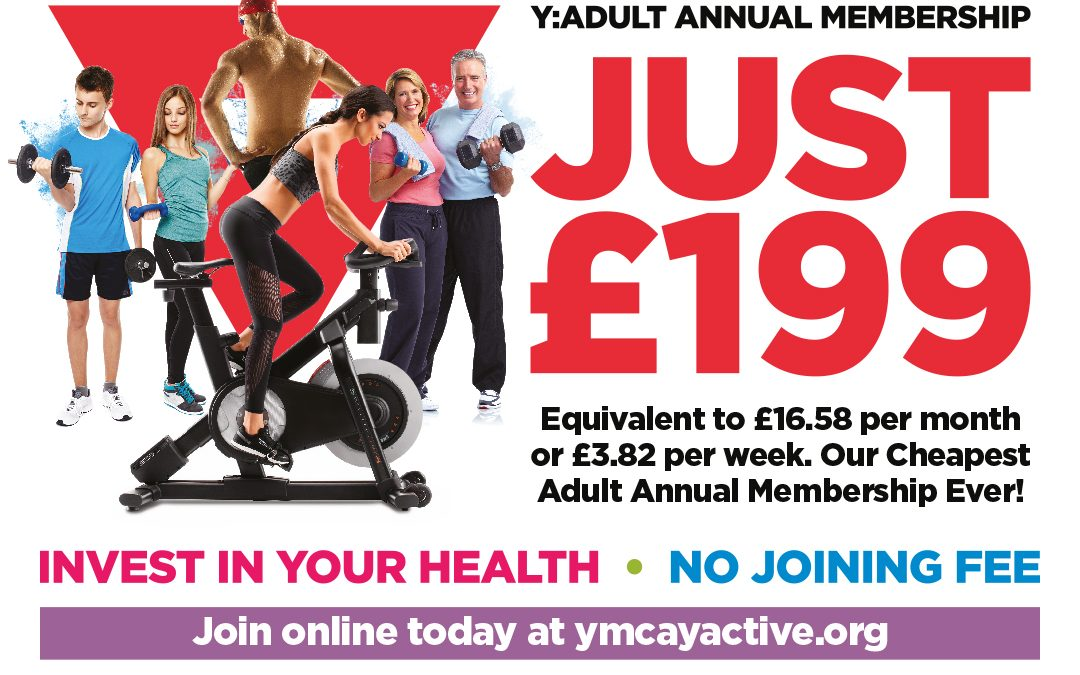 YMCA Membership Sale – Make the Comeback and Be Part of the Recovery
