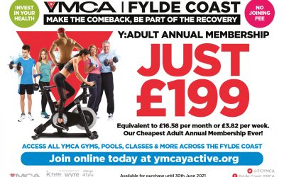 Extended Offer until 30 June 2021 -YMCA Membership Sale – Make the Comeback